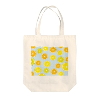 オレンジ&レモン&ライム Tote bags
