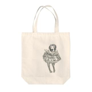 げきじょう Tote bags