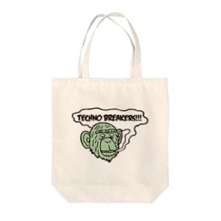 ミドリサル Tote bags