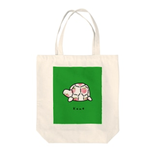 カメイチゴ柄 Tote bags