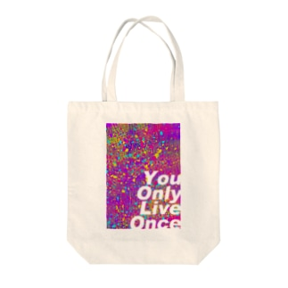 YOLO Tote bags