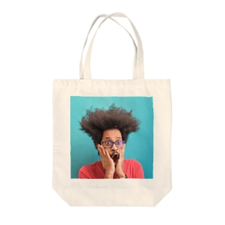 dog_punch Tote bags