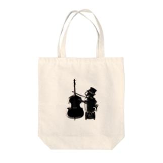 Yu-Ka Contrabass Original 【Robo】 Tote bags
