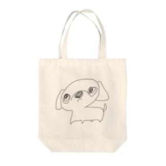 ペキちゃん Tote bags