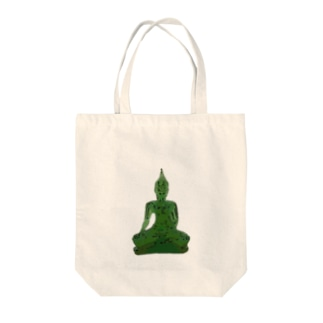 お釈迦様は緑 Tote Bag