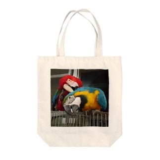 りこちゃん & べにちゃん Tote bags