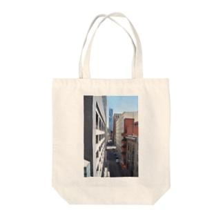 サンフランシスコの路地 Tote bags