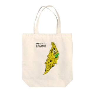 Beauty is in the eye of the beholder. Tote bags