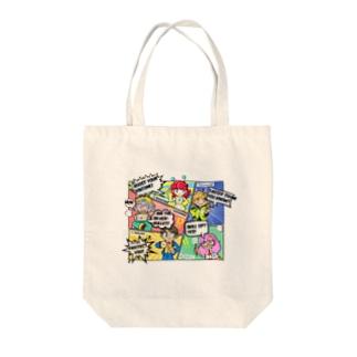 R3 Leagueテーマ Tote bags