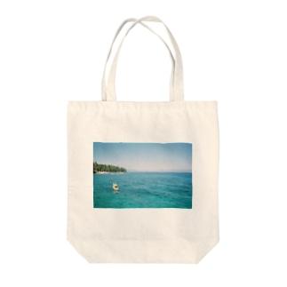 レイクタホ Tote bags