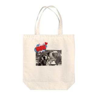 期間限定★ビーグルKISS Tote bags