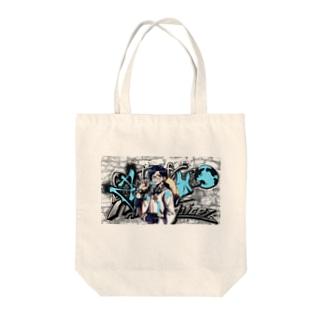 コラボNN Tote bags