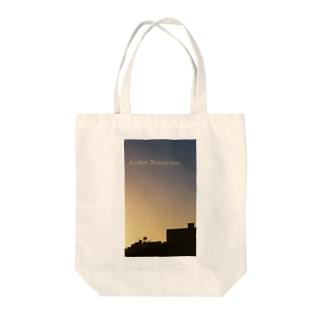 Amber November Tote bags