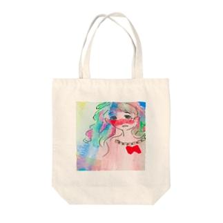 ゆめみる虹彩[3秒前] Tote bags