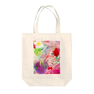 ゆめみる虹彩 Tote bags