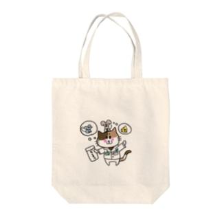 ケコ&ネコ Tote bags