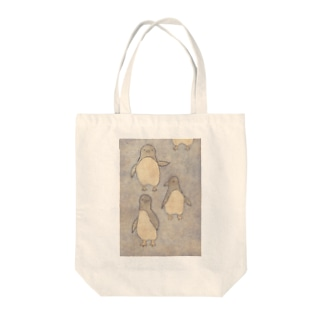 33 STOREのペンギンの行進 Tote bags