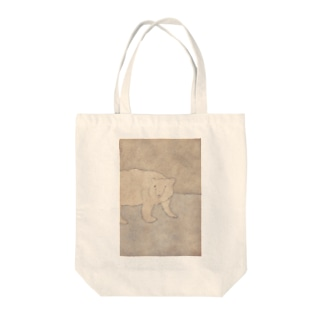 33 STOREのシロクマさん Tote bags