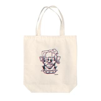 SMフランケン Tote bags
