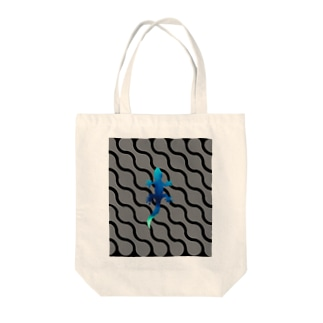 THE GECKO Tote bags
