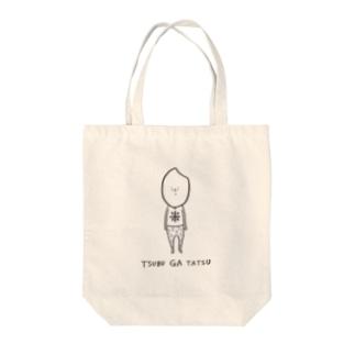 米粒が立つ Tote bags