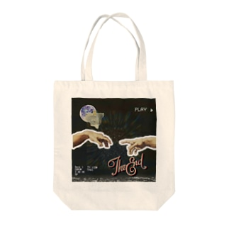 The end Tote bags