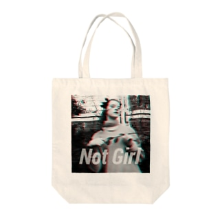 NOTBITCH notgirl Tote bags
