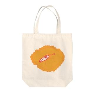 クッションの上でお昼寝は優雅 Tote bags