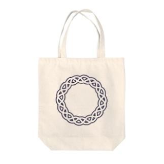 Dominant Yumeno logo 背景透過Ver Tote bags