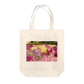 花畑 Tote bags