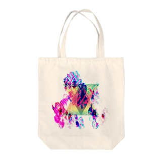 triangleFLOWER Tote bags