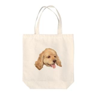 愛犬モコさん Tote bags
