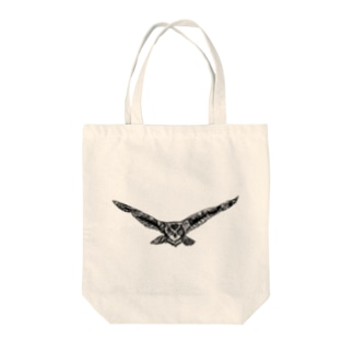 Attack Tote bags
