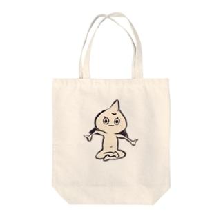 妖怪 おっことし Tote bags