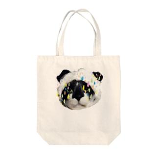 猫のマイケル Tote bags