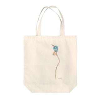 -KAWASEMI No.1- Bird call Tote bags
