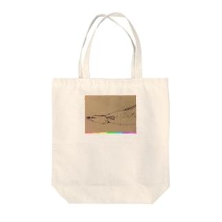 ウナギョ Tote bags