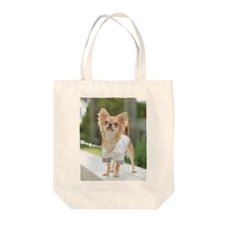 湘南にゃんわんふぉと🐶の愛犬グッズ(sampleご購入不可) Tote bags