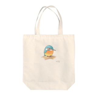 -KAWASEMI No.4- Bird call Tote bags