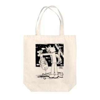 はらぺこ水族館 Tote bags