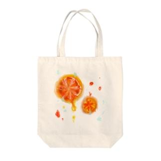おれんじじゅーs Tote bags