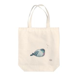 DOTEKKOの-HATO No.1- Bird call Tote bags