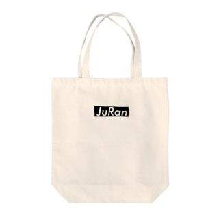 JuRan ロゴ Tote bags