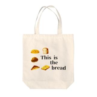 これはパンです Tote bags