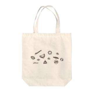 フィンランドの概念 (黒) Tote bags