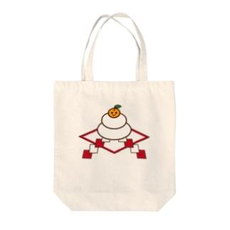 鏡餅 Tote bags
