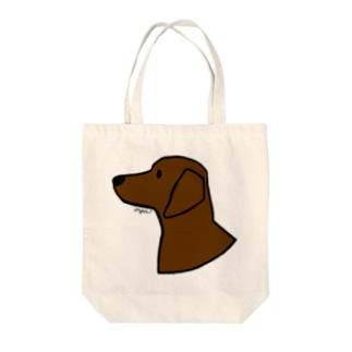 ダックスフンド Tote bags