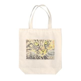 スクリュースタンプ (ネコ)     Tote bags