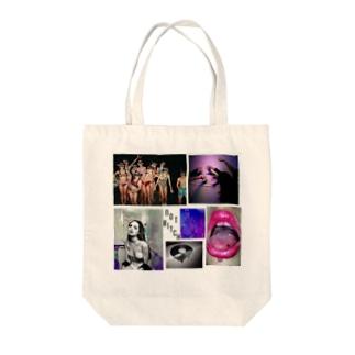 NOTBITCH col Tote bags