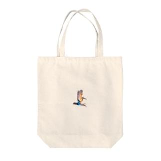 カワセミワンポイント Tote bags